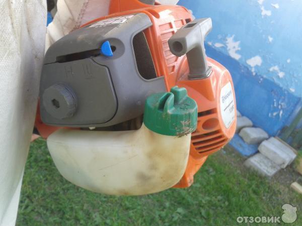 Триммер бензиновый хускварна ремонт своими руками 86