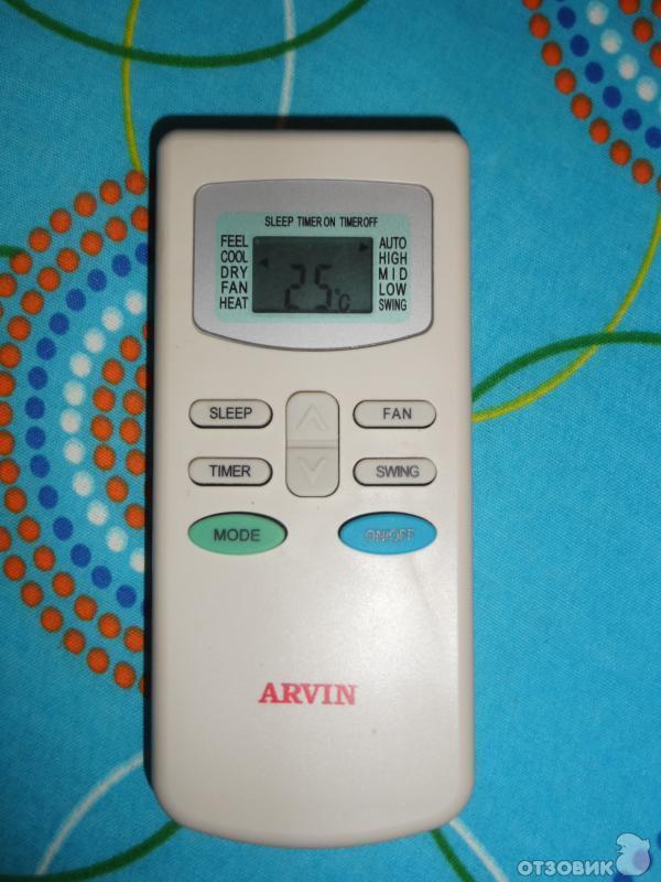 инструкция по эксплуатации кондиционера Arvin img-1