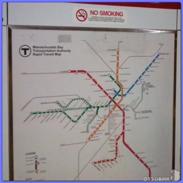 Бостонское метро (США) фото
