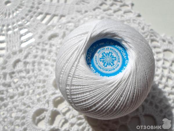 Нитки снежинка для вязания