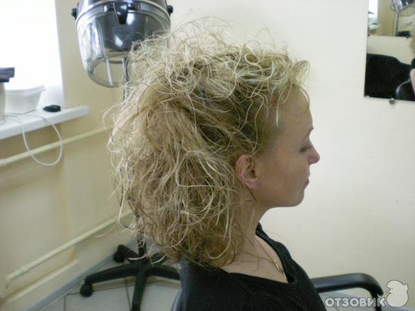 Укладка прямых волос диффузором