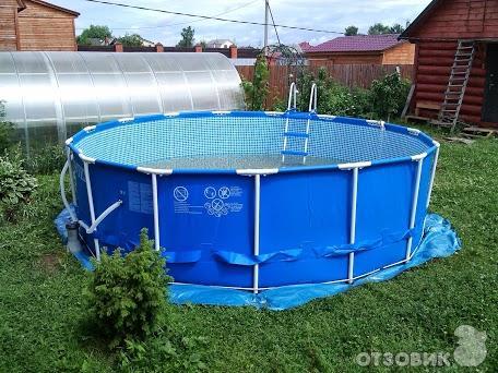 бассейн каркасный Intex инструкция по сборке - фото 10