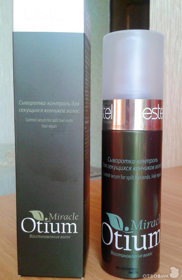 Сыворотка-контроль для секущихся кончиков волос otium miracle