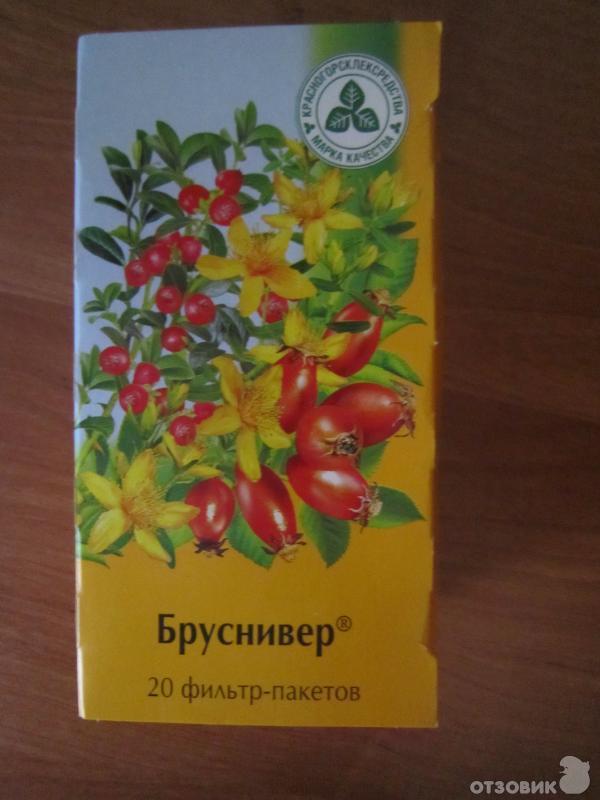 """Отзыв о Растительный сбор Европлант """"Бруснивер"""" Действенное мочегонное средство!"""