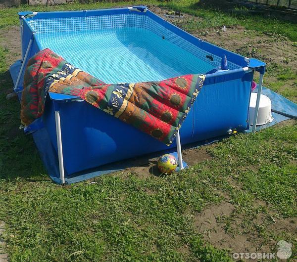 бассейн каркасный Intex инструкция по сборке - фото 3