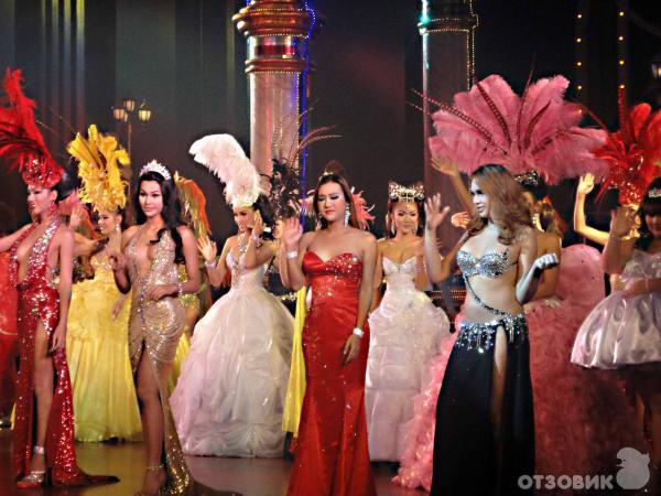 Секс шоу трансов в тайланде