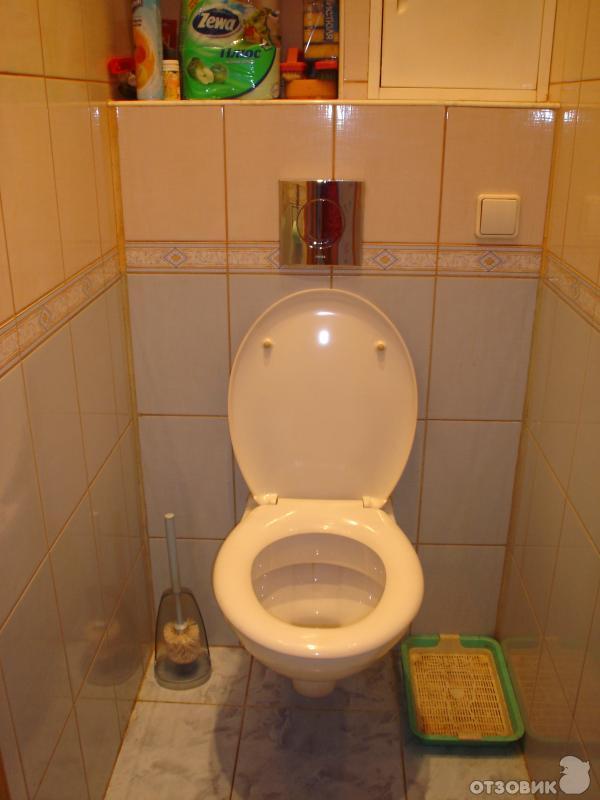 Как сделать туалет подвесной 891