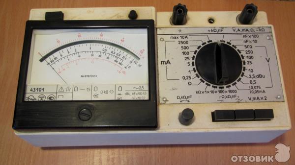 аналоговый прибор 43101.