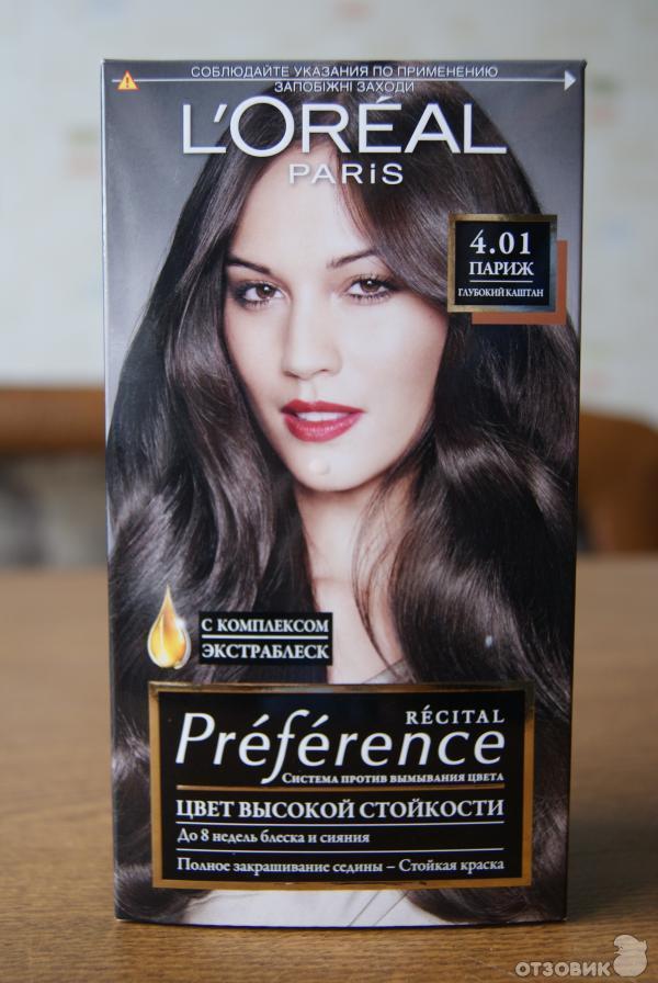 Лореаль цвет волос