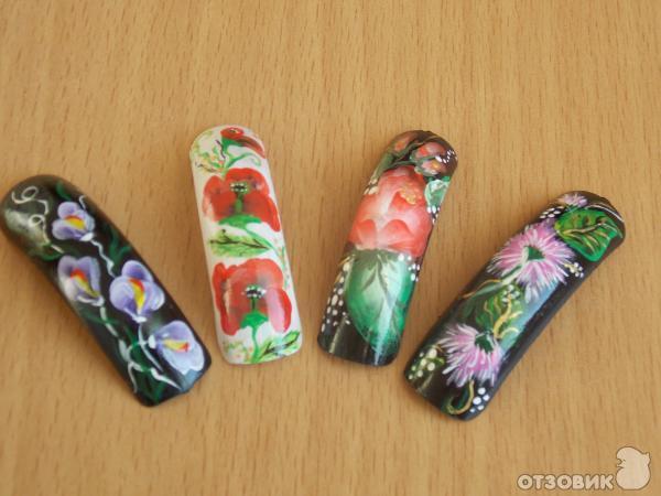 Какие лучшие краски для китайской росписи