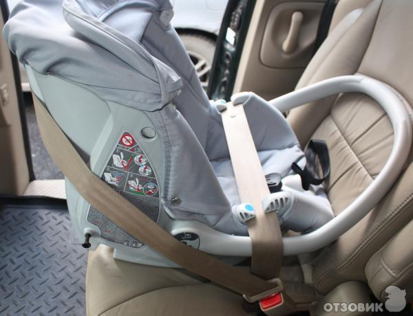 Как правильно установить детское автокресло в машине
