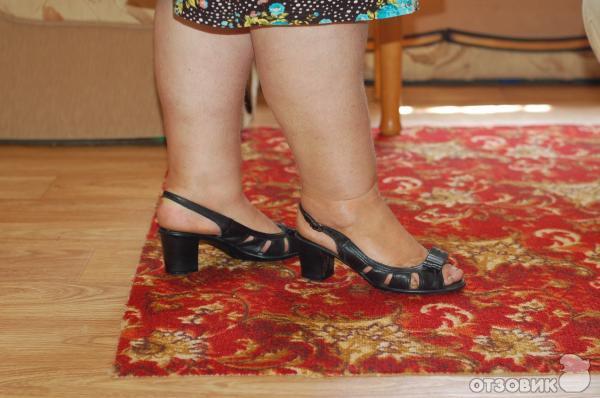 Обувь на полную ногу, фото