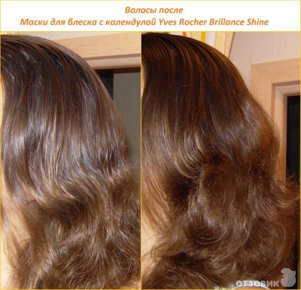 Маска для волос для блеск
