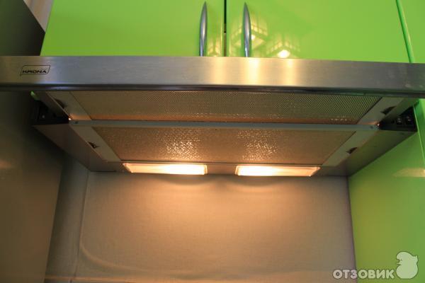 Как установить вытяжку крона на кухне своими руками видео