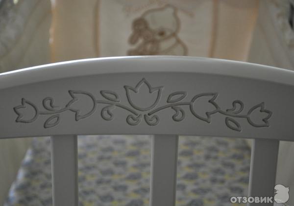 детская кроватка Можга Руслан с универсальным маятником.