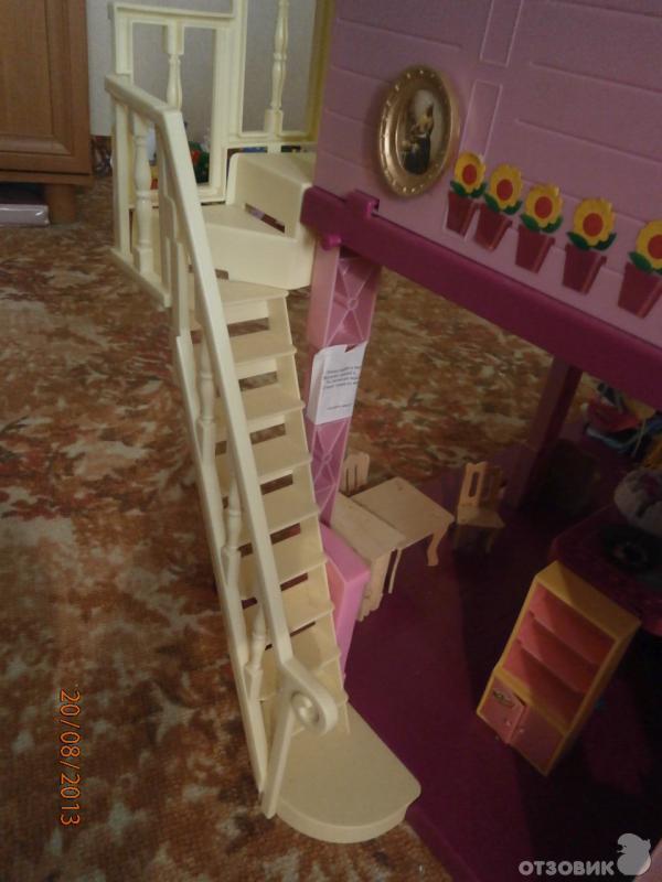Как сделать ступеньки в кукольный домик