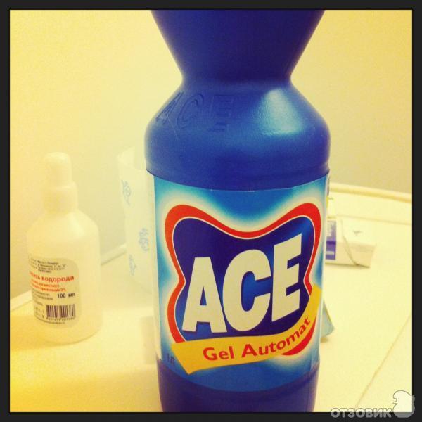 отбеливатель инструкция Ace - фото 6