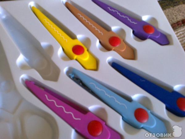 ножницы с фигурными лезвиями