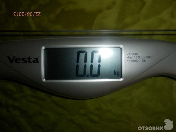 как обмануть напольные весы чтобы показывали меньше