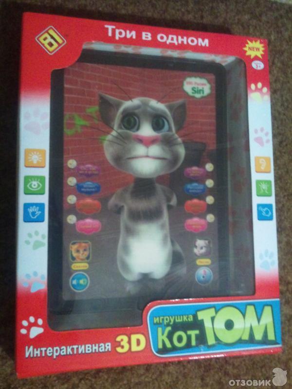 Интерактивный 3d планшет кот том купить