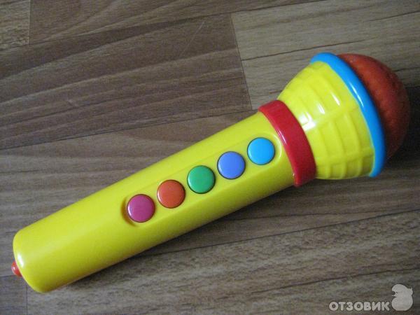 Игрушечный микрофон своими руками