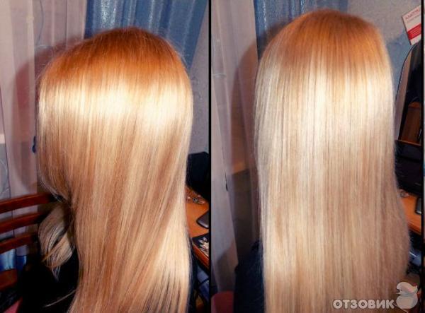 Краска для волос блонд отзывы