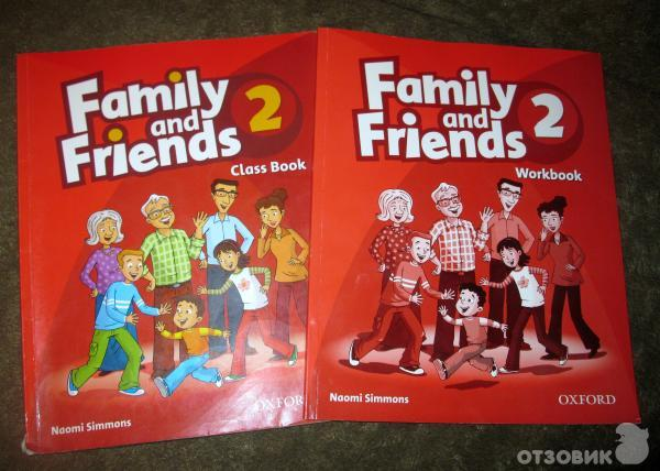 учебник family and friends купить