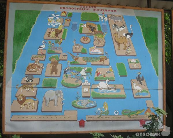 Одесский зоопарк на Новощепном
