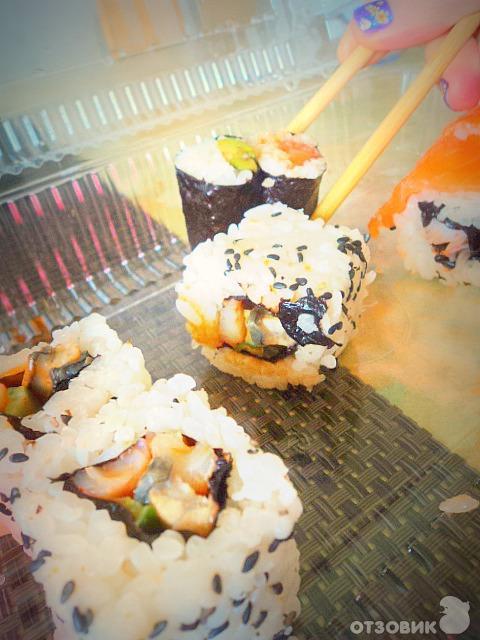 Суши и роллы на дом в Авто суши