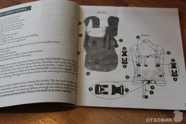 рюкзак эрго бэби инструкция на русском - фото 2