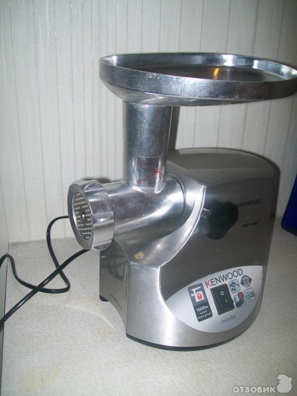 инструкция к мясорубке Kenwood Pro 1600 - фото 5