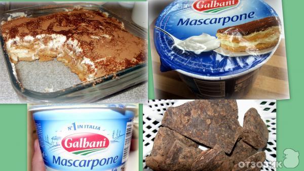 Десерт из сливочного сыра