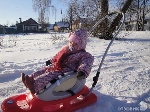 Особенно прикольно - санки детские snow baby dream, жаль, в этом году дети еще маловат