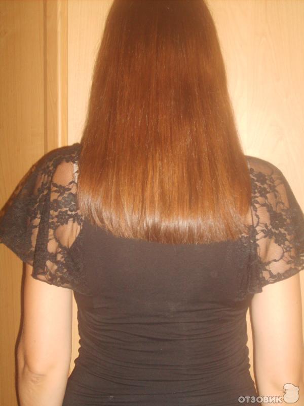 как выстричь челку на длинных волосах