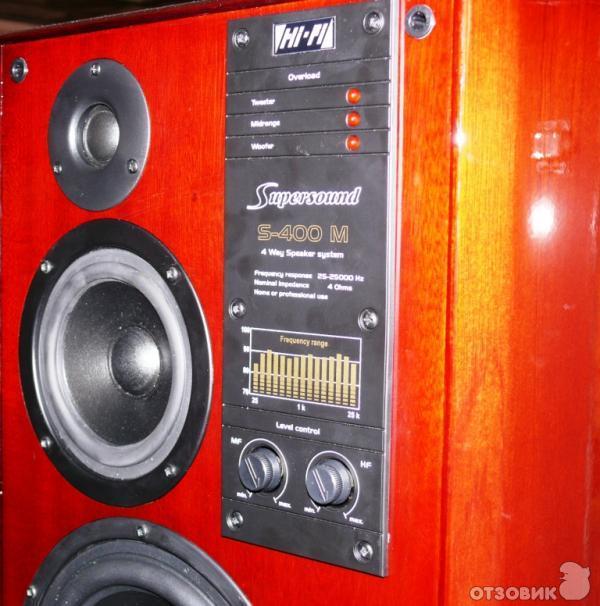 Отзыв о Акустическая система VEF Radiotehnika RRR S-400 M ...
