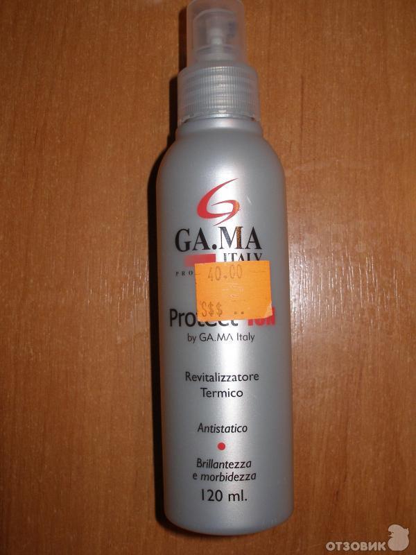 Спрей защита для волос от утюжка