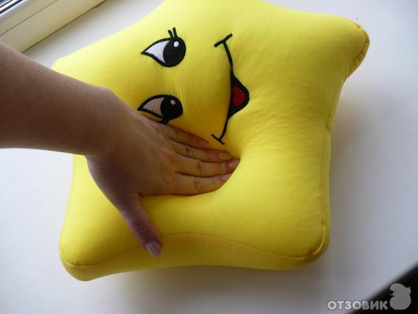 Подушка с шариками своими руками 97