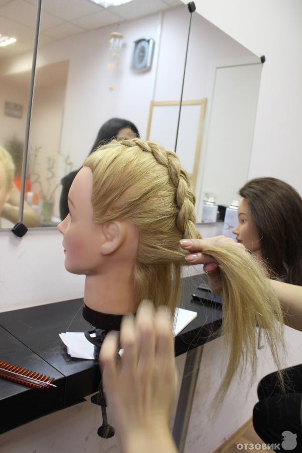 учебный центр прически модель