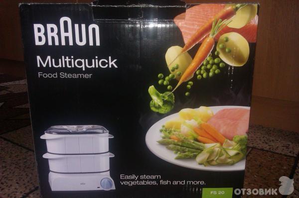 Рецепты для пароварок braun