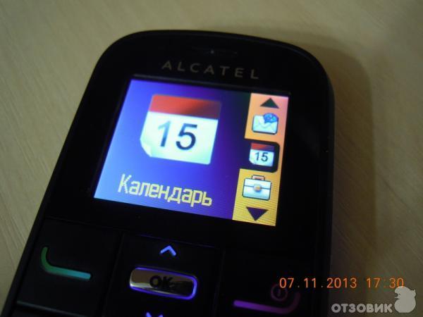 Отзыв сотовый телефон alcatel one touch 282