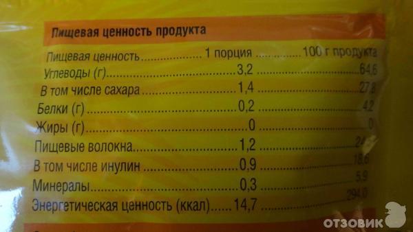 Углеводы в том числе сахара
