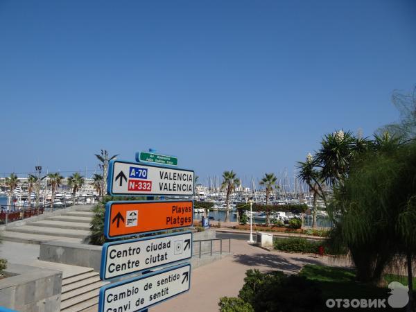 Автовокзал аликанте на карте испании
