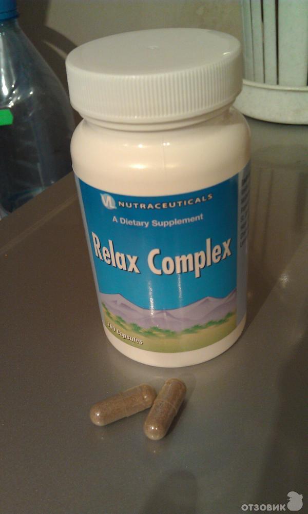 Релакс комплекс инструкция