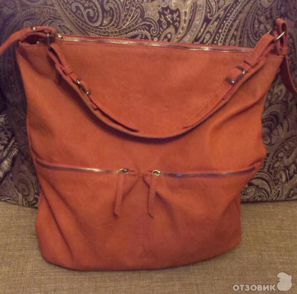 Рыжие женские сумки - sumochkacom