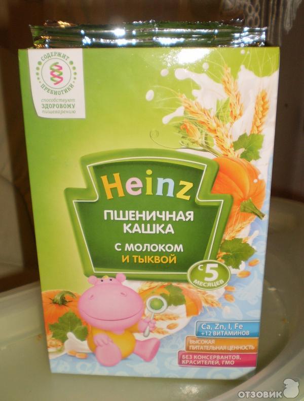 Пшеничная каша на воде с молоком