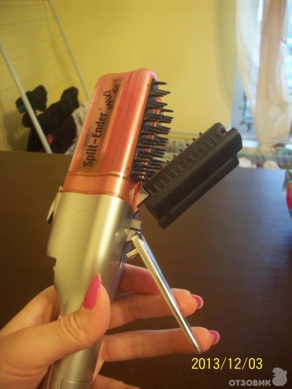 Купить прибор для удаления секущихся кончиков волос split ender