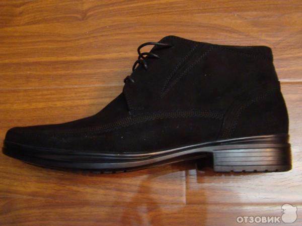 Зимняя обувь из замши фото