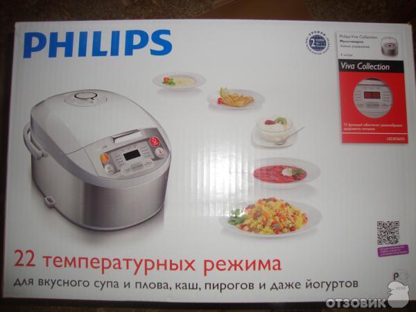 Мультиварка philips hd3036 все рецепты