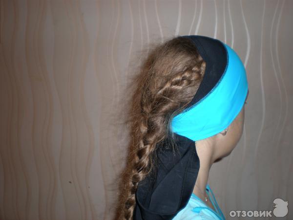 Прически для плавания на длинные волосы