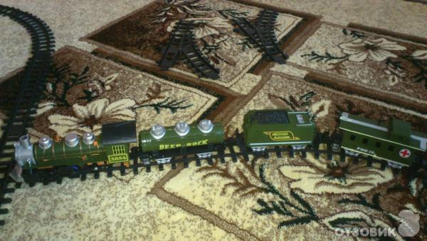 Железная дорога Joy Toy Эшелон фото